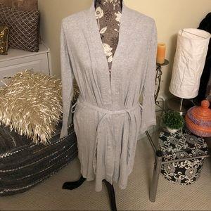 Calvin Klein Short Cotton Robe